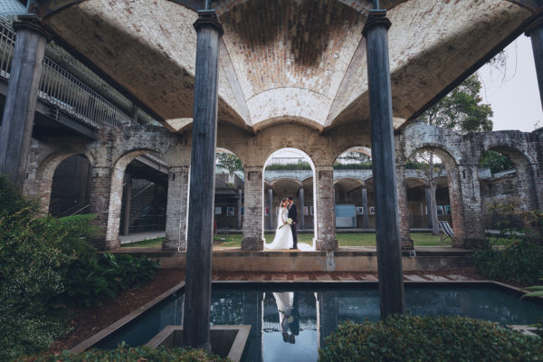 bridal photography perfect location